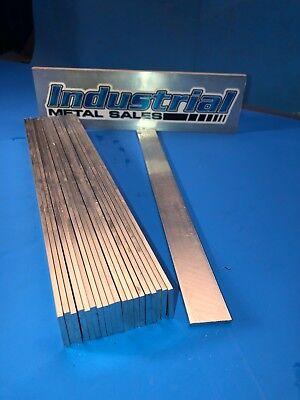 18 X 1 6061 T6511 Aluminum Flat Bar X 12-long--.125 X 1 6061 20 Pieces