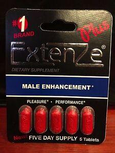 12 Extenze Plus Male Men Enhancement Packs of 5 (60 Caplet Total) 100% authentic