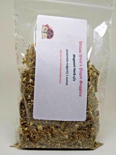Mugwort Herb c/s 1 oz Wicca witchcraft supplies voodoo Hoodoo Pagan