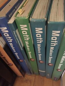Loads of textbooks