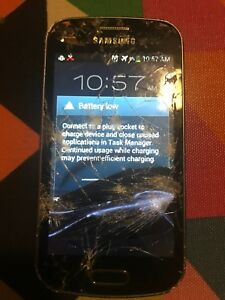 Cracked Kinda Working Samsung Galaxy Ace 2 X *FOR PARTS*