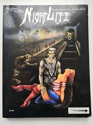 Nightlife Horror RPG Core Book 3rd edition Stellar Games 1992 for sale  Shipping to Nigeria