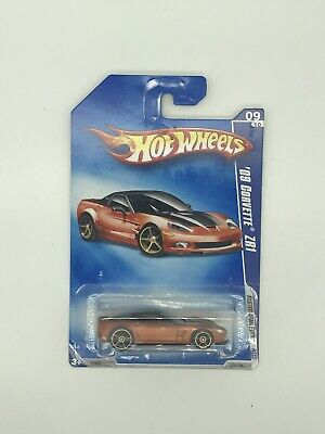 2009 Hot Wheels #135 Faster Than Ever 9/10 '09 CORVETTE ZR1 Brown Variant wFTESp