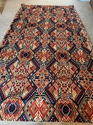 Vintage Retro Geometric Curtain 127cm Wide 183cm Drop Babylon Exclusive Design