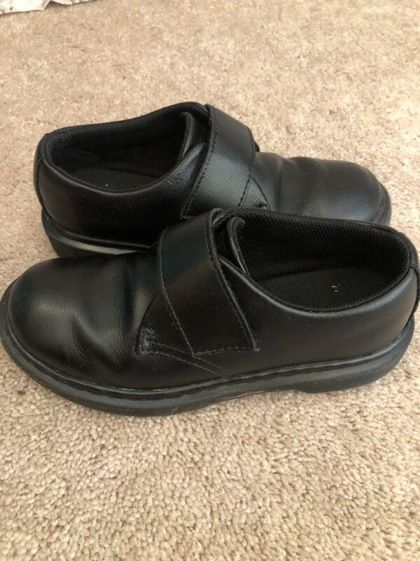 Dr. Martens Kamron J Size US 1 Junior Black Leather Uniform School Shoes