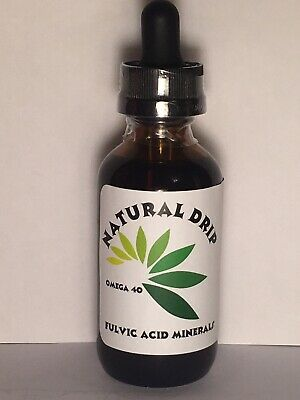 Natural Drip 2 oz. Fulvic acid trace mineral concentrate More U Buy Cheaper $