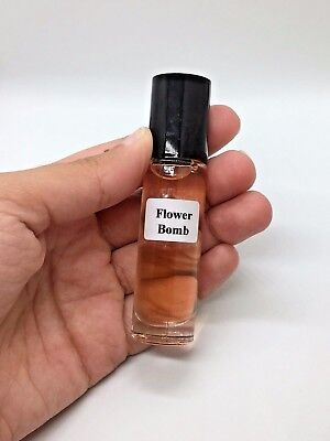 Flowerbomb by Viktor & Rolf Type Perfume Body Oil for Women 10 ML Roll On - - Type Perfume