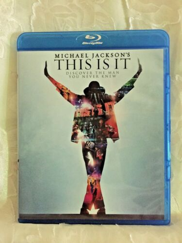 THIS IS IT Blu-Ray 2010 Michael Jackson