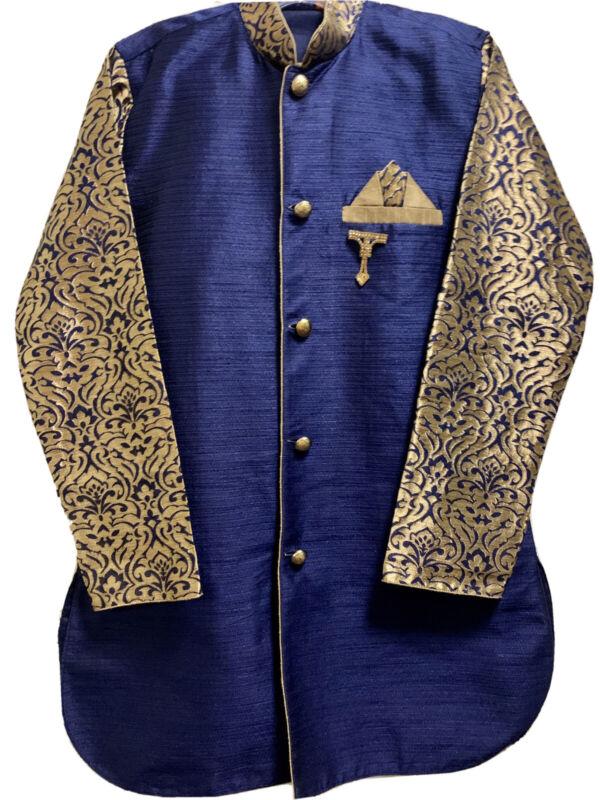 Designer Boy's Sherwani Suit 13-14 Years 158cm- Formal Event/ Wedding