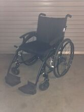 Wheel chair. Black streamline & sporty Brighton Bayside Area Preview