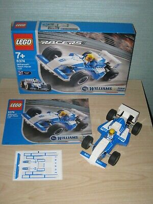 LEGO Racers set 8374 Williams F1 Team Racer complete with box & instructions