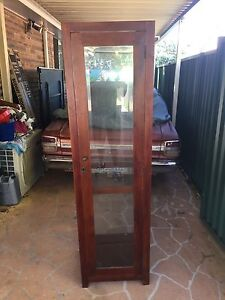ANTIQUE DISPLAY CABINET Rochedale Brisbane South East Preview