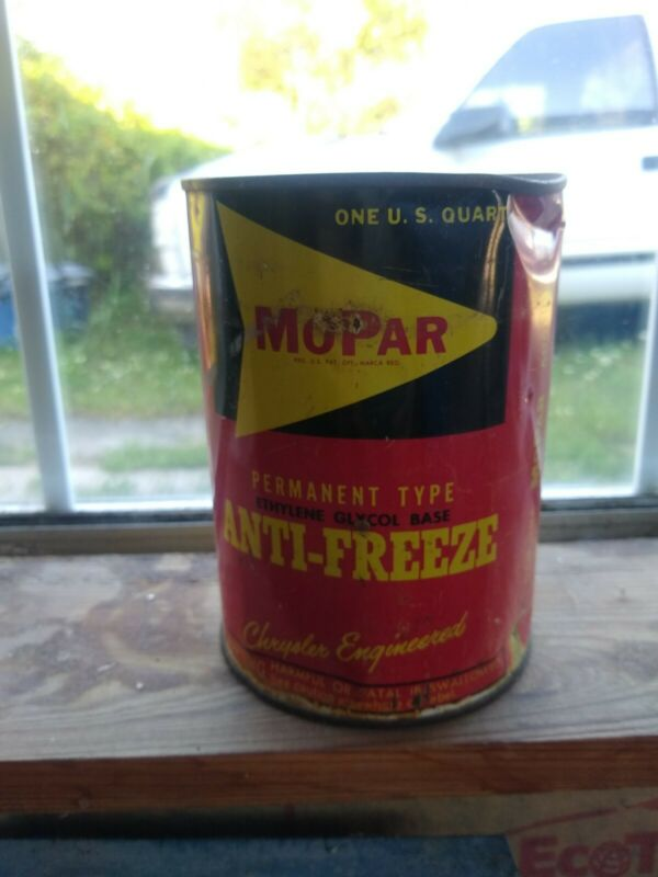 Antique Quart of Mopar Antifreeze