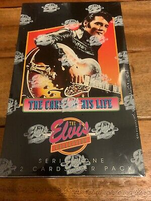 Elvis Presley Collection The Cards of His Life Series One Factory Sealed