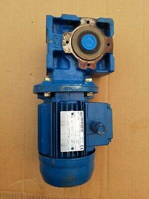 Rossi Electric Motor Wgear Reducer Hf 63b 4 B5 230460v