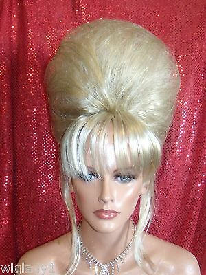 HALLOWEEN SPECIAL VEGAS GIRL WIGS PICK YOUR COLOR SMOOTH UPDO FRENCH TWIST - Halloween Updos