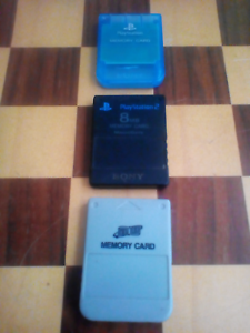Playstation memory cards x3 Bar Beach Newcastle Area Preview