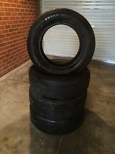 TYRES       255 60 r 18 Port Adelaide Port Adelaide Area Preview