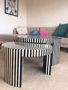 Coffee Table 2 Piece Set By Coco Republic Cremorne Point North Sydney Area Preview