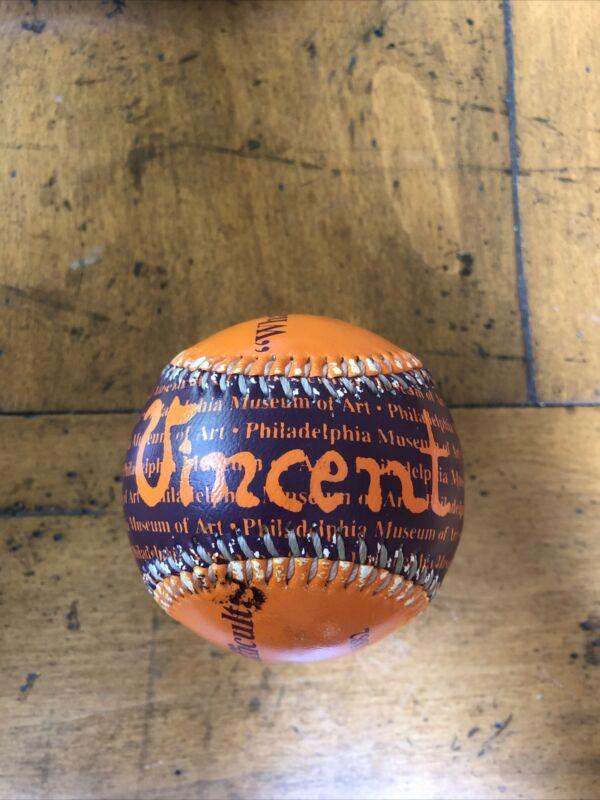 Philadelphia Museum of Art Vincent Van Gogh Baseball Ball From Gift Shop