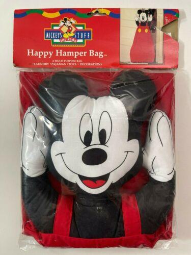 Vintage Mickey Mouse Toy Bag Happy Hamper Mickey