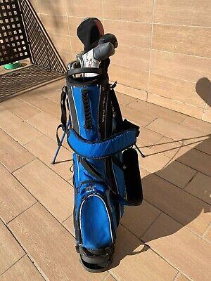 Equipo completo de palos de golf y bolsa para transporte para hombres diestros
