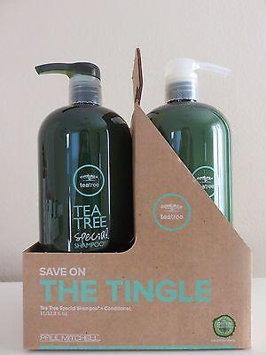 PAUL MITCHELL TEA TREE  Shampoo & Conditioner 33.8 oz LITER DUO / SET