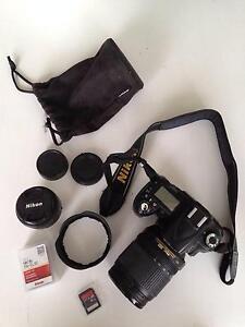 Nikon D90 inc. bag, tripod, 50mm lens + accessories Prahran Stonnington Area Preview