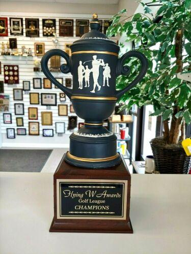 "Cameo Cup 15"" Golf Trophy Award Individual Award Free Engraving"