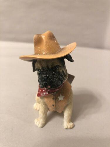 Raz  Sheriff Bull Dog Figurine In Costume Shelf action Hero 3807011