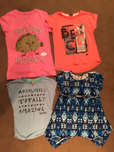 Girl's summer clothing size 7/8