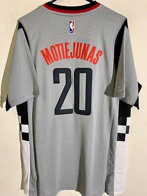 Adidas Swingman 2015-16 NBA Jersey Houston Rockets Motiejunas Grey sz M