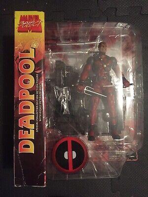 """Marvel Diamond Select Deadpool 7"""" VHTF Figure UNMASKED VARIANT Rare Limited"""