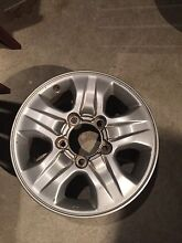 Toyota landcruiser alloy wheel Rothwell Redcliffe Area Preview