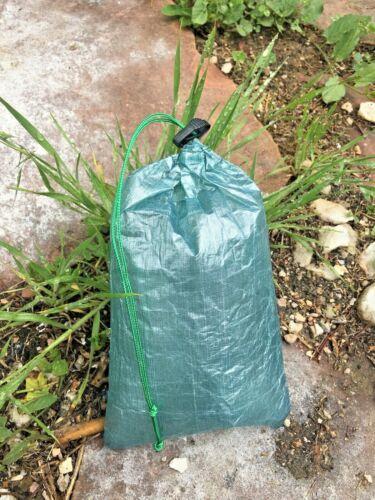 LIVESOUTSIDE.COM CUBEN Fiber DYNEEMA Composite Stuff Sack Ultralight Green ~3g