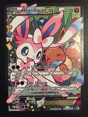 Pokemon!! Feelinara EX Generationen RC32/RC32! Full Art! Ultra Rare! NM! DE! (Pokemon Generation)