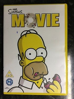 The Simpsons Movie, Childrens, Family Films, Childrens Movies, DVD, usado segunda mano  Embacar hacia Argentina