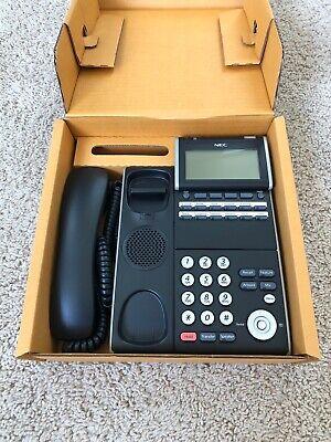 Nec Desk Phone. Model Ilvxdz-ybk. Itl-12d-1 Bk Tel Dt700 Series Phone.