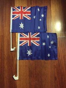 62 x (2 pack) Australian flags for the car. Barden Ridge Sutherland Area Preview