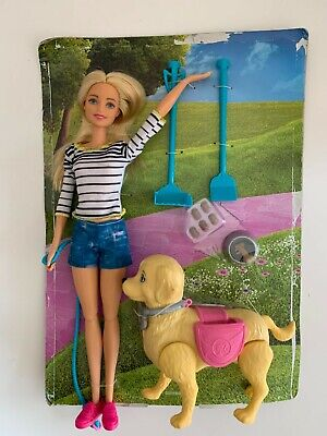 Walk and Potty Pup for Barbie Mattel New with Missing Packaging