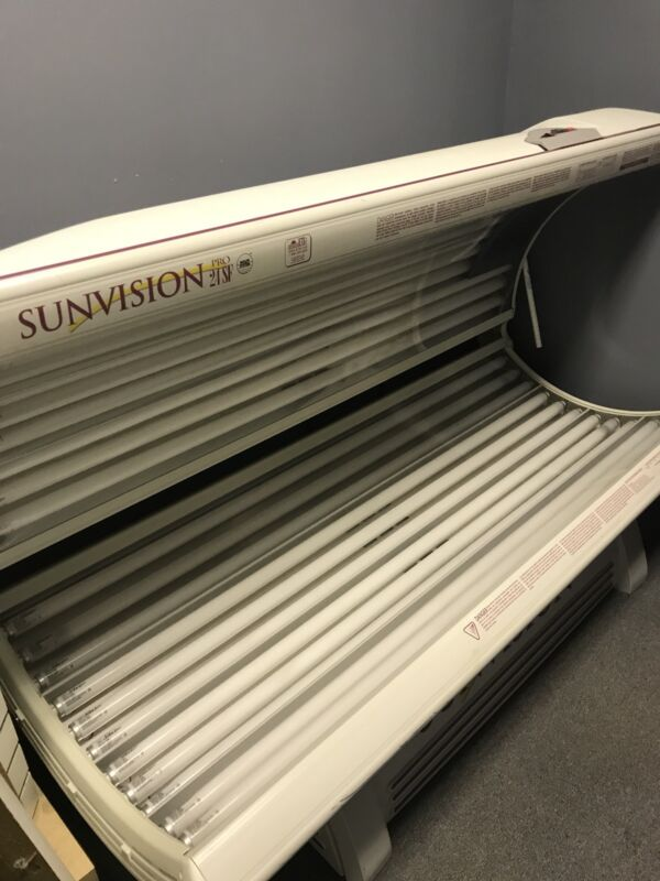 sunvision tanning bed PRO 24 SF