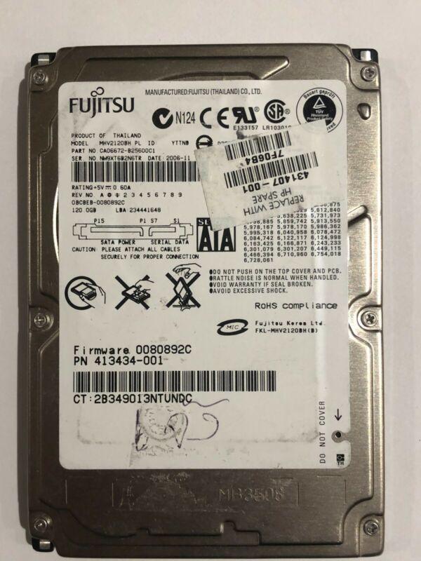Fujitsu 120gb Hdd Mhv2120bh Sata Laptop Notebook Pcb Board Only