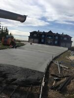 For any Kind of Concrete work call 4034003269