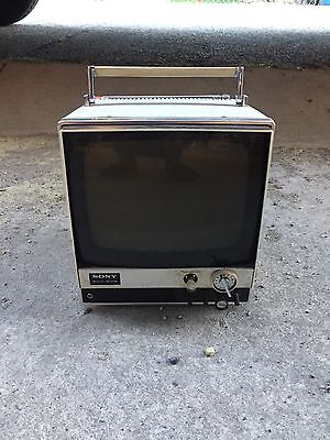Vintage Sony Solid State Transistor Tv Receiver