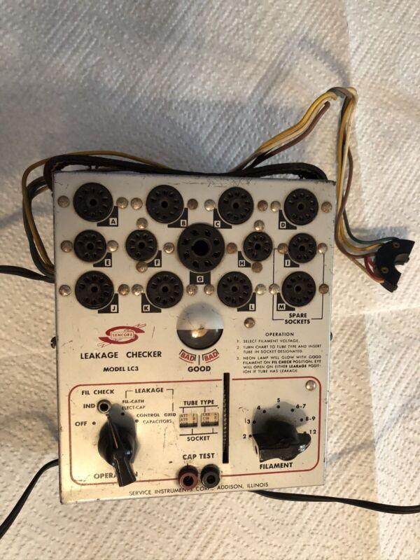 SENCORE Leakage Checker Model LC3, 13 Socket Docks.