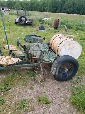 Vintage Tow Type Holland Transplanter Single Row Planter