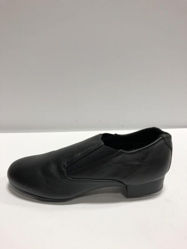 Capezio Slip On Womens Tap Shoe Black 9.5 M