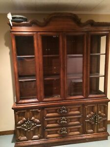 Two-piece Hutch Display $150 OBO