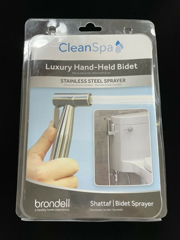 Brondell CleanSpa Luxury Hand Held Bidet - Silver BRAND NEW NEVER OPENED