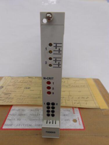ABB STAL 720083-1 CRITICAL SPEED PCB CIRCUIT BOARD CARD MODULE